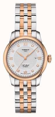 Tissot |ル・ロックル|ツートーンステンレス|シルバーダイヤル| T0062072203600