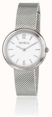 Breil アイリスホワイトダイヤルステンレススチールメッシュブレスレット TW1776