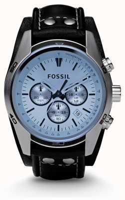 Fossil メンズブルーダイヤルのクロノグラフウォッチ CH2564