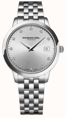 Raymond Weil レディース|トッカータ|ダイヤモンド|シルバーダイヤル 5388-ST-65081