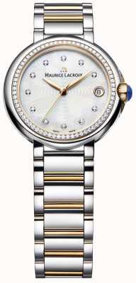 Maurice Lacroix フィアバレディースダイヤモンドセットツートーンマザーオブパール FA1004-PVP23-170-1