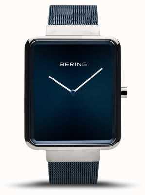 Bering |メンズクラシック|ブルーメッシュブレスレット|ブルーダイヤル| 14533-307