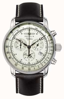 Zeppelin 100年|スイスクォーツ|クロノグラフ時計 8680-3