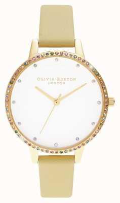 Olivia Burton |レディース|レインボーベゼル|サンシャイン&ゴールドブレスレット| OB16RB20