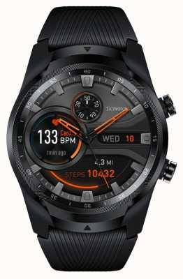 TicWatch Pro 4g lte esim |黒| Wearosスマートウォッチ PRO4G-WF11018-136247