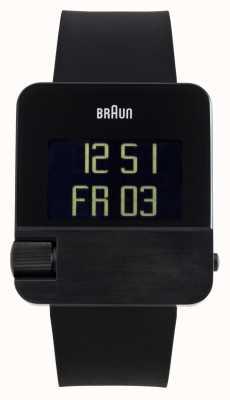 Braun メンズ|プレステージ|デジタル|黒いゴム BN0106BKBKG