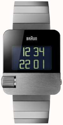 Braun メンズ|プレステージ|デジタル|黒のブレスレット BN0106BKBTG