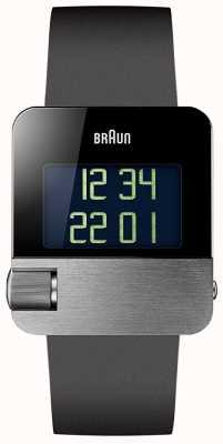 Braun メンズ|プレステージ|デジタル|黒いゴム BN0106SLBKG