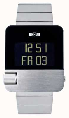 Braun メンズ|プレステージ|デジタル|ステンレス鋼のブレスレット BN0106SLBTG