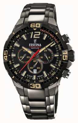 Festina Chrono Bike 2020 Limited Editionグレースチールブレスレット F20527/1