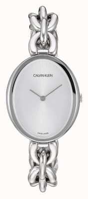 Calvin Klein |女性の声明|ステンレススチールチェーンブレスレット| K9Y23126