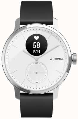 Withings スキャンウォッチ38mm-ホワイト HWA09-MODEL 1-ALL-INT