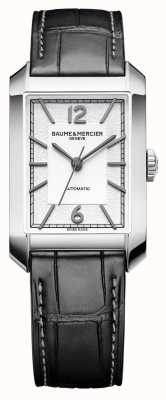 Baume & Mercier ジェンツハンプトン|自動|オパラインシルバーダイヤル| M0A10522