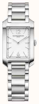 Baume & Mercier ハンプトン長方形|レディース|ステンレス鋼|シルバー文字盤 M0A10473