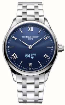 Frederique Constant メンズ 活力 スマートウォッチ 青い文字盤 ステンレス鋼 FC-287N5B6B