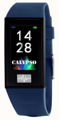 Calypso ユニセックス| smartime |ブルーシリコンストラップ+フリーストラップ K8500/5