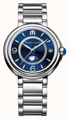 Maurice Lacroix フィアバムーンフェイズレディースクォーツダイヤモンドステンレス鋼 FA1084-SS002-420-1