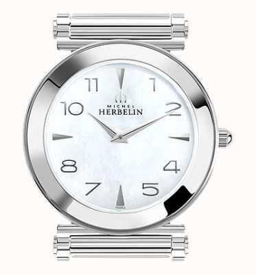 Michel Herbelin アンタレス|ステンレス鋼の時計の文字盤のみ|真珠の母 H.17443/19