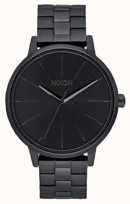 Nixon ケンジントン|オールブラック|ブラックIPブレスレット|黒の文字盤 A099-001-00