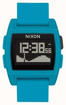 Nixon 基準潮 青い樹脂 デジタル 青いシリコンストラップ A1104-2556-00