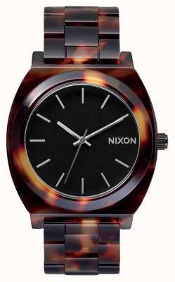 Nixon タイムテラーアセテート カメ 黒の文字盤 A327-646-00