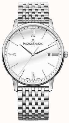 Maurice Lacroix メンズエリロ|ステンレス鋼のブレスレット|シルバーダイヤル EL1118-SS002-113-2