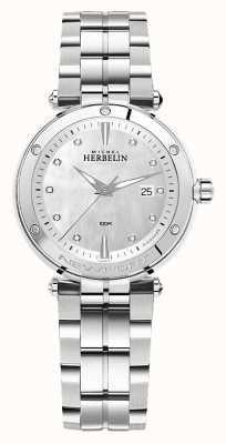 Michel Herbelin ニューポート|女性のステンレス鋼のブレスレット 14288/B89