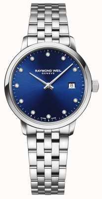 Raymond Weil トッカータ| 11ダイヤモンドブルーダイヤル|ステンレス鋼のブレスレット 5985-ST-50081
