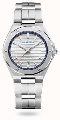 Michel Herbelin カップカマラ|自動|シルバーダイヤル|ステンレス鋼のブレスレット 1645/B42