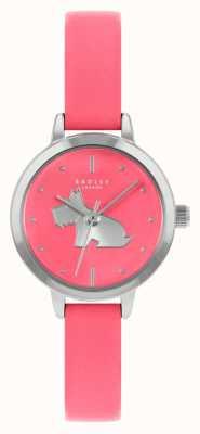 Radley 女性の明るいピンクの革ストラップ|ピンクの文字盤 RY21253A