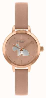 Radley 女性用ピンクレザーストラップ|ピンクの文字盤 RY21254A