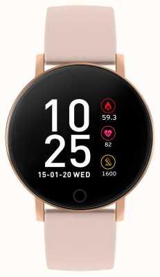 Reflex Active シリーズ5スマートウォッチ|時間モニター|カラータッチスクリーン|ピンクのストラップ RA05-2020