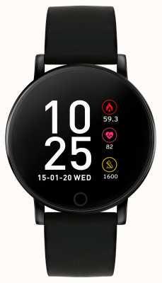Reflex Active シリーズ5スマートウォッチ|時間モニター|カラータッチスクリーン|黒のストラップ RA05-2022