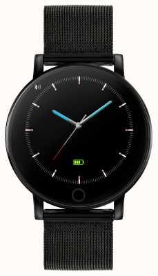 Reflex Active シリーズ5スマートウォッチ|時間モニター|カラータッチスクリーン|ブラックIPスチールメッシュ RA05-4024