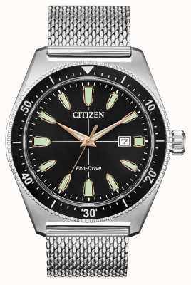 Citizen メンズブライセンエコドライブステンレススチール AW1590-55E