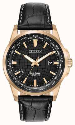 Citizen メンズエコドライブワールドタイマーwr50 BX1003-08E
