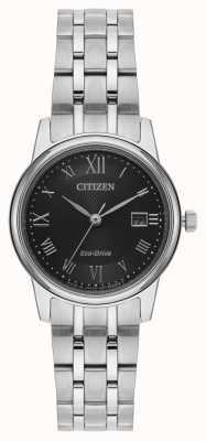 Citizen 女性用エコドライブシルバーブレスレット EW2310-59E