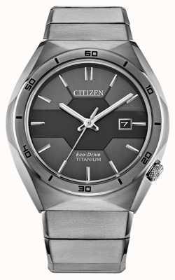 Citizen メンズエコドライブスーパーチタンアーマー AW1660-51H