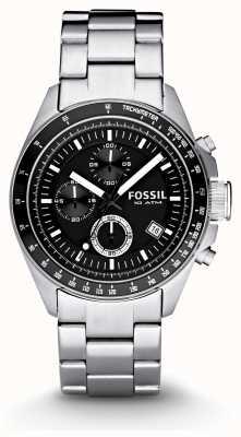 Fossil メンズシルバークロノグラフファッションウォッチ CH2600IE