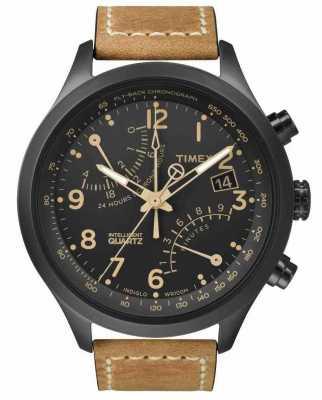 Timex Iq tシリーズフライバッククロノグラフ T2N700