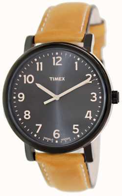 Timex Ezリーダーのタンストラップクラシックウォッチ T2N677